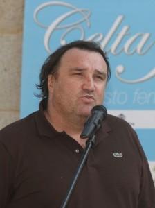 El presidente del Celt Indepo, Paco Araújo cree que todos los clubes tendrán que reducir costes.- Vertical.