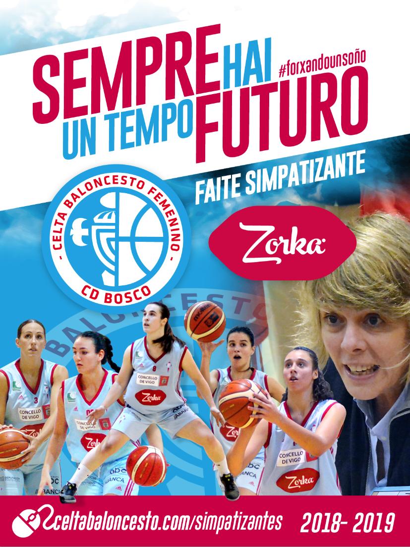 Campaña de abonados del Celta Baloncesto (Foto: Celta Baloncesto).